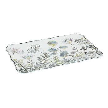 The Grainhouse™ Fern Floral Rectangular Melamine Serving Tray view 1