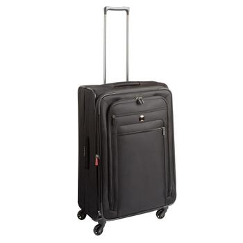 "Delsey® 22.25"" Black Rolling Trolley Tote"