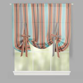 Traditions by Waverly® Stripe Tie-Up Window Shade