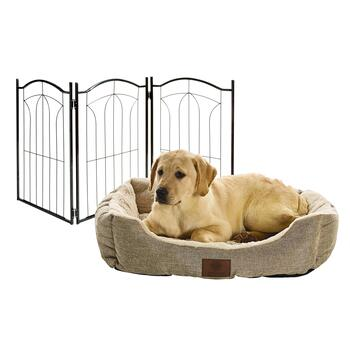 Pet Bed & Pet Gates
