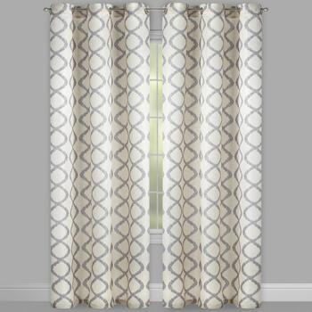 "95"" Wooster Grommet Window Curtains, Set of 2 view 2"