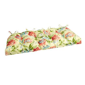 Garden Party Indoor/Outdoor Double-U Bench Seat Pad