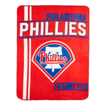 MLB Philadelphia Phillies Plush Throw Blanket