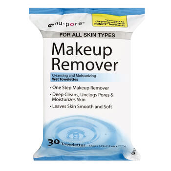 MU REMOVER TISSUES 25ct view 1