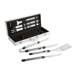 6-Piece Aluminum and Stainless Steel Barbecue Tools Set