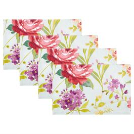Mila Floral Print Placemats, Set of 4