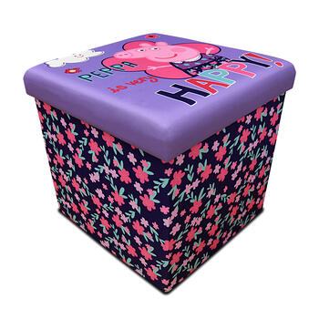 Peppa Pig™ Children's Sit-and-Store Folding Ottoman view 1