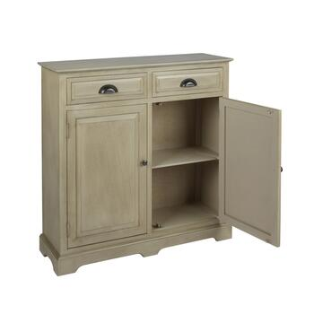 The Grainhouse™ 2-Door/2-Drawer Top Tray Cabinet view 2