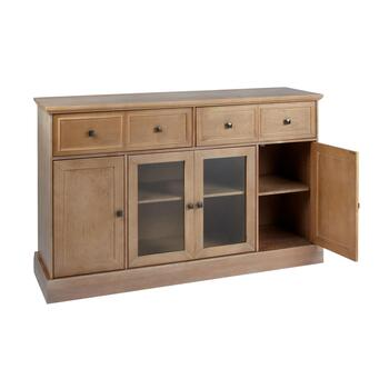 The Grainhouse™ Brown 4-Door Sideboard Cabinet view 2