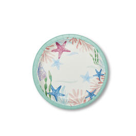 "Coasal Tidepool 7"" Paper Plates 100-Count view 1"