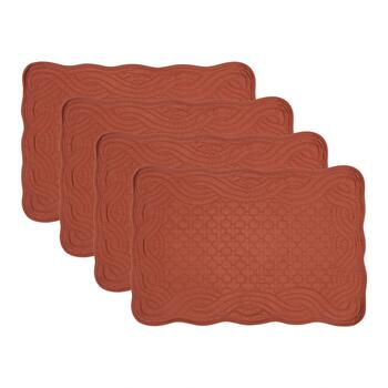 Harvest Quilted Placemats, Set of 4