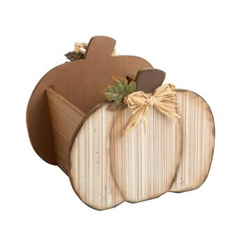 "9"" Pumpkin Towel Caddy"