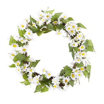 "The Grainhouse™ 22"" Daisy Wreath view 1"