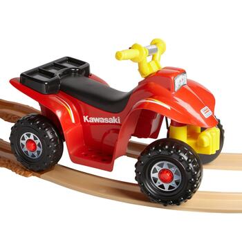 Fisher-Price® Power Wheels® Kawasaki Lil Quad™ with Track