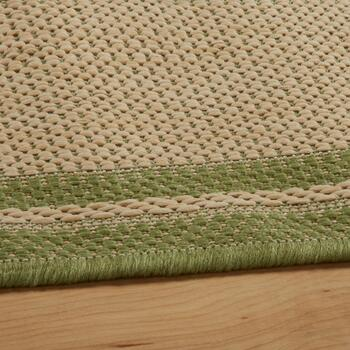 Green Border All-Weather Area Rug view 2