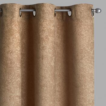 Embosssed Branch Room-Darkening Window Curtains, Set of 2