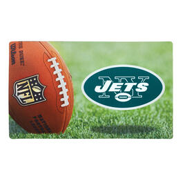 NFL New York Jets High-Definition Rubber Door Mat view 1