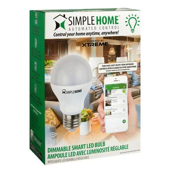 Simple Home™ Dimmable Smart LED Bulb view 2