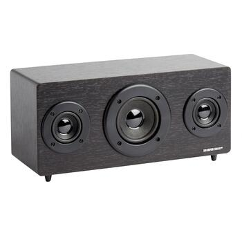 Sharper Image® Black Wood-Look Bluetooth® Speaker