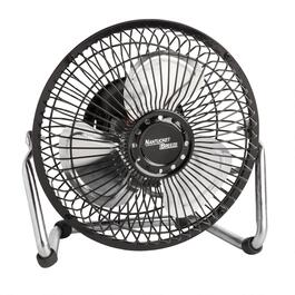 "6"" Black High Velocity Tabletop Fan"