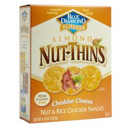 Blue Diamond® Cheddar Cheese Nut-Thins® Crackers, 12 Boxes