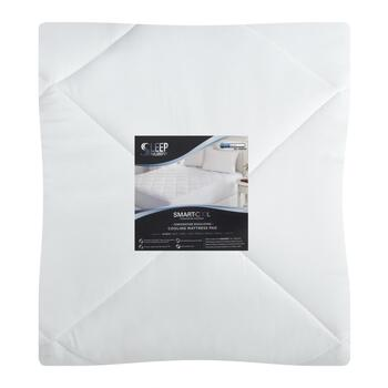 Temperature-Regulating Cooling Microfiber Mattress Pad