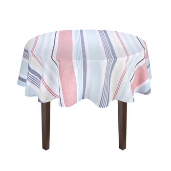 Coastal Living Seascapes™ Striped Tablecloth view 2