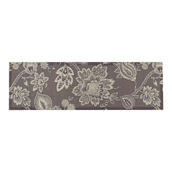 "Waverly® 4'4""x6'11"" Gray Floral Indoor/Outdoor Area Rug view 2 view 3"