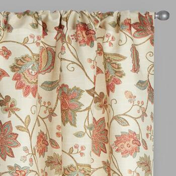 Florabotanica Paisley Window Curtains, Set of 2