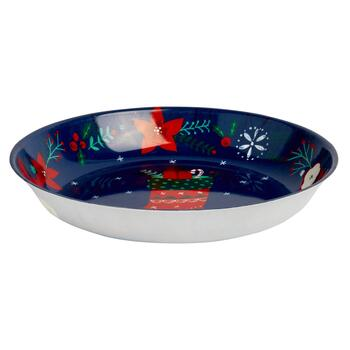 """Holiday Cheer"" Stocking Plastic Salad Bowls, Set of 6 view 2"