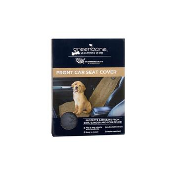 Humane Society Waterproof Front Car Seat Pet Cover
