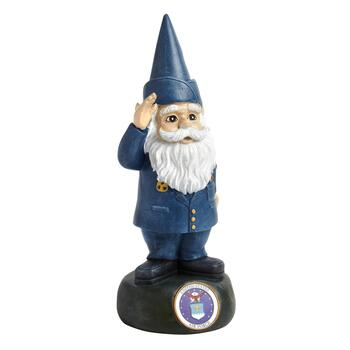 "12"" Air Force Military Gnome"
