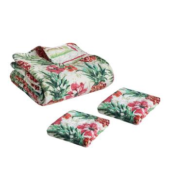 Panama Jack® Pineapple Tropical Quilt Set view 2