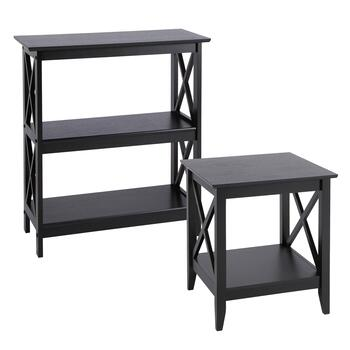 Milan Black X-Side Furniture Collection