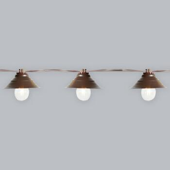10' Hooded Lamp String Lights