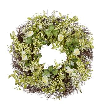 "22"" Berry Ranunculus Wreath"
