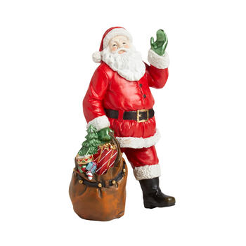 "12"" Santa and Gift Bag Figurine view 1"