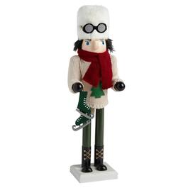 "15"" Winter Skier Nutcracker"