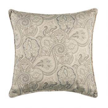 Traditions by Waverly® Paisley Indoor/Outdoor Floor Cushion