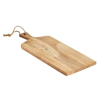 "The Grainhouse™ 16"" Mango Wood Paddle Serving Board"