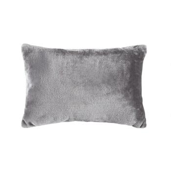 Sequin Snowflake Embellished Oblong Throw Pillow view 2