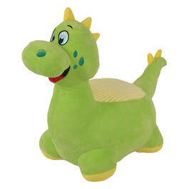 Kids Green Dinosaur Seat view 1