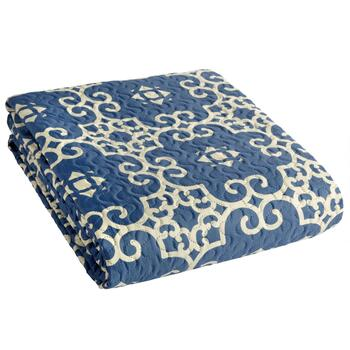 Patterned Print Pinsonic Bedspread