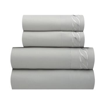 Laura Embroidered Links Sheet Set