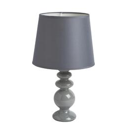 "16"" Gray Bubble Ceramic Accent Lamp"