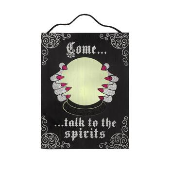 "16""x21"" ""Come Talk to the Spirits"" Wood Wall Decor"