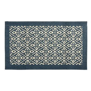 Mohawk Home Twilight Blue Pattern Accent Rug