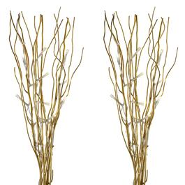 Willow Branch with LED Lights, Set of 2