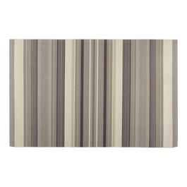 "Waverly® 4'4""x6'11"" Cream/Gray Striped Indoor/Outdoor Area Rug"
