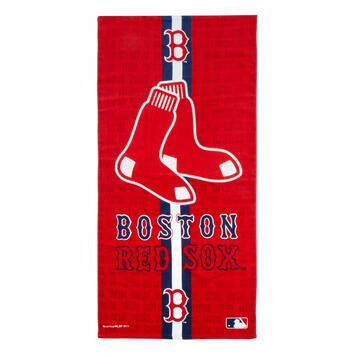 MLB Boston Red Sox Red Cotton Towel